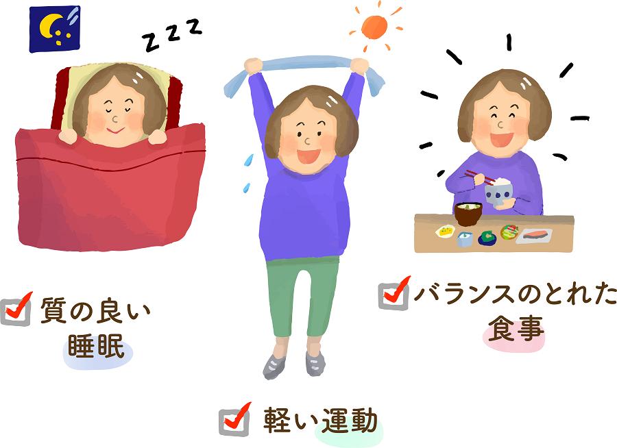 7つの健康習慣